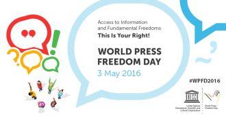 Konference om ytringsfrihed den 2. maj 2016 i Helsinki, Finland