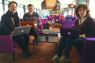 First meeting of the Russian media project group. 