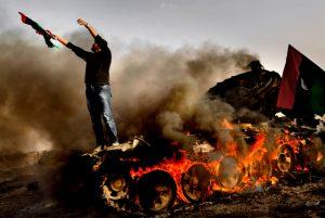 The fall of Ajdabiya, Libya, 2011. Photo: Mads Nissen/ Politiken/ Panos Pictures