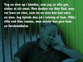 Den danske digter Knud Steffen Nielsen har skrevet et digt med afsæt i konkrete trusler via mail, sociale medier og telefonbeskedder