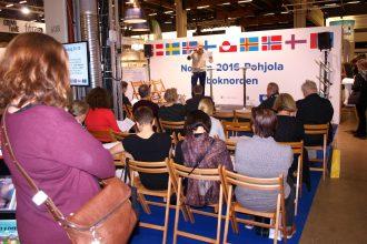 Fra NJC-scenen på bogmessen i Helsingfors blæses til kamp mod hate speech
