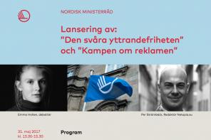"""Indbydelse lancering af """"Den svære ytringsfrihed"""""""
