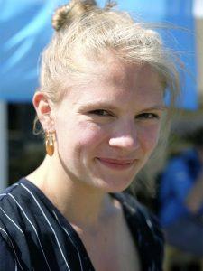 Debattør Emma Holten under Folkemødet på Bornholm (2017). Foto: NJC