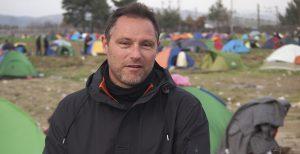 Antonis Repanas, Greek journalist. Free European Media, book launch