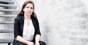 Freja Wedenborg, Danish journalist. Photo Andrea Sigaard. Free European Media, book launch
