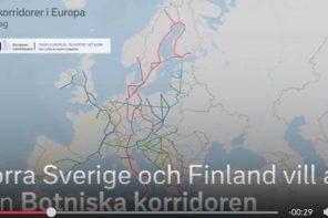 Tågkorridorer i Europa - Förslag