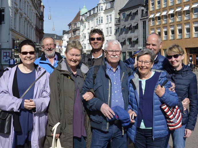 NJC-Guldholdet fra 1988. Fra venstre: Eeva-Riitta Seies, Veli Raasakka, Susanne Selin, Frank Haugsbø, Lennart Ohlsson, Wibecke Lie, Henrik Width, Terhi Width.