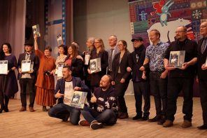 "Forfatter Martin Breum deltog som jurymedlem på vegne af NJC i filmfestivalen ""Northern Character"", Murmansk. Foto: Olav Soriano Salkjelsvik"