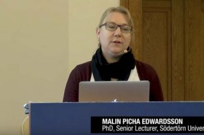 Malin Picha Edwardsen, senior lektor i journalistik, Södertörn University om automatisering af nyheder fra offentlige virksomheder. Den aktivitet bidrager aktivt til lokaljournalisters hverdag