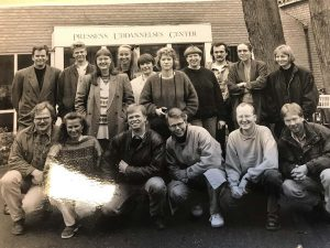 35.kursus i 1992. Det er Patrick Holmstrom nummer tre fra venstre i foreste række.