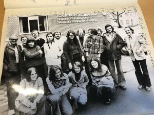 Det 18. kursus i 1975.
