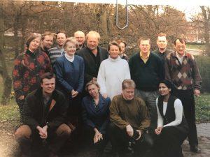 Det første 8. ugers kursus i 1997.