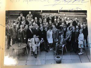 Jubilæumsdeltagere fra årsmødet 5. til 7. marts 1967