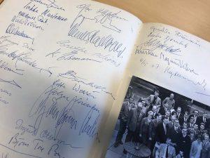Underskrifter - Nordisk Journalist Kursus