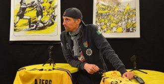 Freddy Thoresen, sportsjournalist i Avisa Nordland. Han har dekket sportsarrangementer i Bodø i over 20 år. Foto: Daria Zarembo