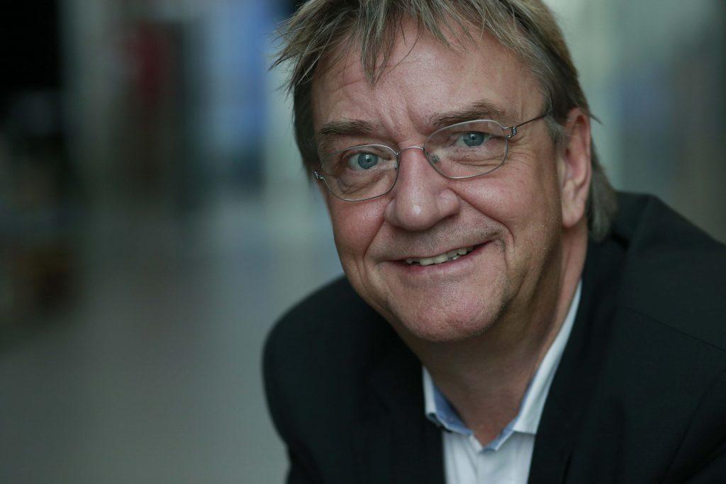 Leif Lønsmann, oplægsholder hos Nordisk Journalistcenter