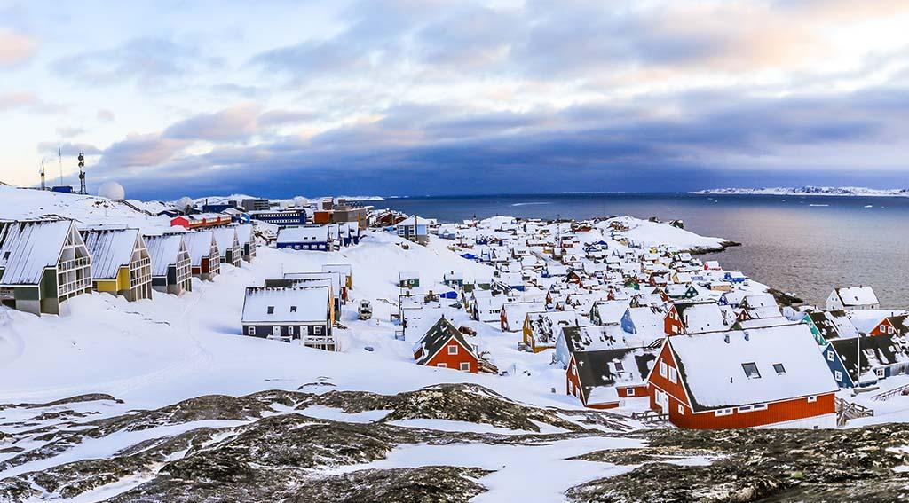Nuuk, Grønland.  Foto: Shutterstock