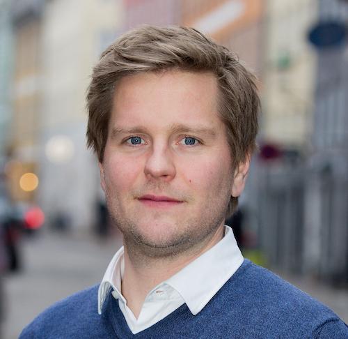 Portrætbillede af Lars K. Jensen. Foto: Ernst Poulsen.